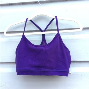 Purple LuLulemon Sports Bra 8
